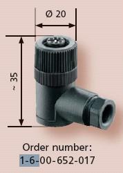 Conector 1-6-00-652-017