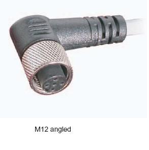 Cablu senzor cu terminal in unghi V2-4/W/P/2M