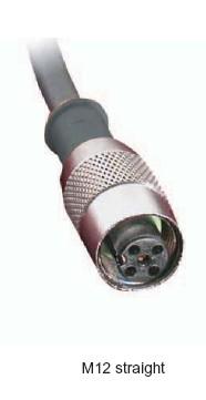 Cablu senzor cu terminal drept V2-4/P/2M