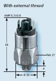 Senzor presiune 0171-460-01-1-001