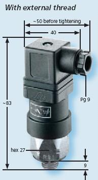 Senzor presiune 0194-457-02-1-002