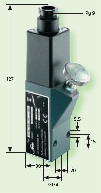 Senzor presiune 0159-434-14-1-001