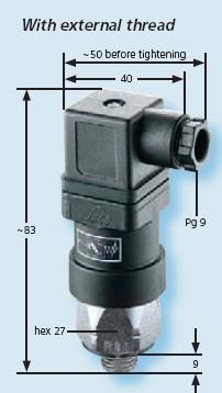 Senzor presiune 0184-458-03-1-042