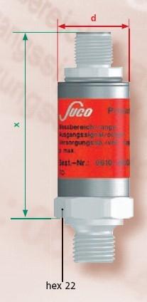 Senzor presiune 0166-407-01-1-025