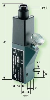Senzor presiune 0159-433-14-1-001