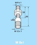 Senzor inductiv cilindric 9961-0265