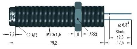 Amortizor de soc ACE MC225EUMH2