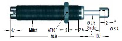 Amortizor de soc ACE MC30EUM-1