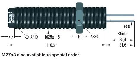 Amortizor de soc ACE MC600EUMH3